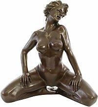 aubaho XXL Bronze Skulptur Erotik erotische Kunst