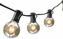 Audex Lichterkette Glühbirnen Außen 7.65M