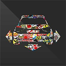 Audi A1 Sticker Bomb Down and Out DUB - Decal Cars Motorcycles Helmet Wall Camper Bike Adesivo Adhesive Autocollant Pegatina Aufkleber - cm 28