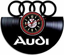 AUDI - AUTOMOBILE - Wanduhr aus Vinyl Record -