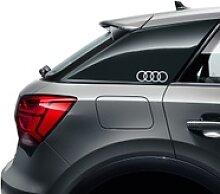 Audi Dekorfolie Audi Ringe florettsilber