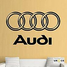 Audi Logo Car A A A Kühler Mechaniker Quote Wall