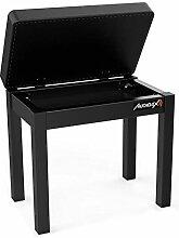 Audibax KB200B Klavierbank / Tastatur mit