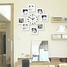 Audrly Holz Bilderrahmen Wand Galerie Wanduhren
