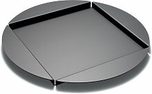 Auerberg - Alu-Tablett, schwarz
