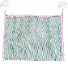 Aufbewahrung aus Netzgewebe, mit Saugnäpfen, für Badespielzeug, faltbar, Umweltfreundlich, Farben zufällig, Größe M