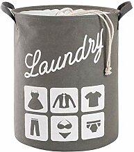 Aufbewahrung Großer Wäschekorb, Faltbar Aus