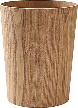 Aufbewahrung Holz Mülleimer (Color : 03)