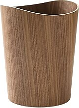 Aufbewahrung Holz Mülleimer (Color : 04)