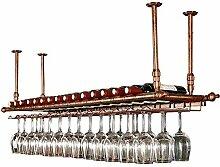 Aufbewahrung von Weinwänden aus Metall Weinhalter