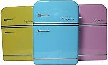 Aufbewahrungs Box Vorratsdose Frischhalte Metall Blech Dose Kühlschrank Retro Alt-Rosa