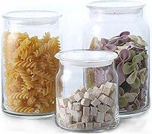 Aufbewahrungsbehälter mit Deckel Glas Vorratsglas