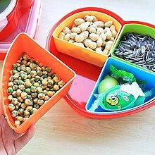 Aufbewahrungsbox, 2 Deckel, Trockenfrüchte