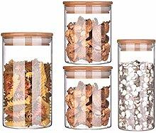 Aufbewahrungsbox 2 Stück Glas Glas Mit Deckel