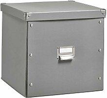 Aufbewahrungsbox Aufbewahrungskiste | Pappe | Grau