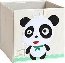 Aufbewahrungsbox Aus Baumwolle Und Leinen