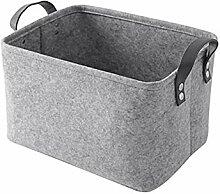 Aufbewahrungsbox aus Filz, faltbar, Wäschesammler