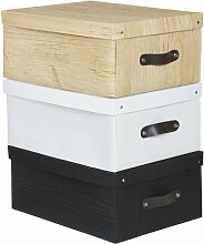 Aufbewahrungsbox aus Karton Rebrilliant