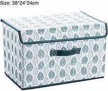 Aufbewahrungsbox aus Vliesstoff Stoff mit Deckel