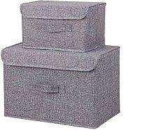 Aufbewahrungsbox Baumwolle Leinen Kleidung Für