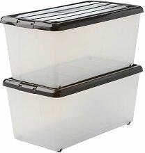 Aufbewahrungsbox Carry Stocker aus Kunststoff