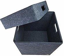 Aufbewahrungsbox FILZ Regalkorb Filzbox Korb Box