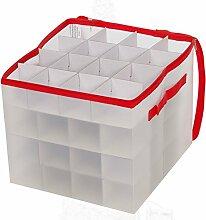 Aufbewahrungsbox für 64Weihnachtskugeln