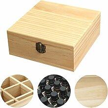 Aufbewahrungsbox für ätherische Öle, Holz, für