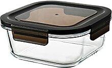 Aufbewahrungsbox Glas Lunchbox Mikrowelle-beheizte