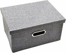 Aufbewahrungsbox mit Deckel, FOKOM CD Box DVD Box