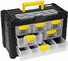 Aufbewahrungsbox mit Tragegriff, 40x20xH26cm,