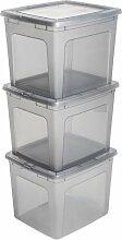 Aufbewahrungsbox Modular aus Kunststoff