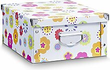 aufbewahrungsboxen mit deckel pappe g nstig online kaufen lionshome. Black Bedroom Furniture Sets. Home Design Ideas