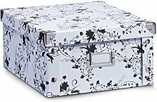 Aufbewahrungsbox Pappe M floral 17847