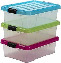 Aufbewahrungsbox Power aus Kunststoff ClearAmbient