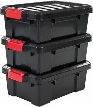 Aufbewahrungsbox Power aus Kunststoff IRIS