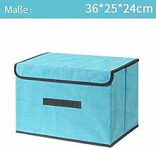 Aufbewahrungsbox Spielkiste mit Deckel Faltkiste