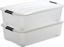 Aufbewahrungsbox Top aus Kunststoff IRIS