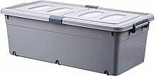 Aufbewahrungsbox unter dem Bett flache
