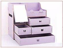 Aufbewahrungsboxen HUOGUOSHU Makeup 1 Spiegel,