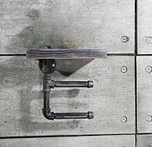 Aufbewahrungsregal für Toilettensitz, Handtuch,