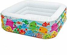 Aufblasbare Badewanne Aufblasbarer Pool aufblasbarer_Pool für Erwachsene Baby Badewanne Baby Badewanne, Portable Home Badewanne ausgeklappt werden kann Cyhione
