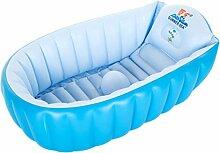 Aufblasbare Badewanne, Baby-Badewanne Baby-Verdickung Badewanne Kind Swimmingpool