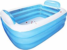 Aufblasbare Badewanne für Erwachsene, faltbare,
