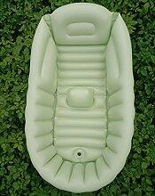 Aufblasbare Badewanne Reisen Tragbare Baby Aufblasbare Badewanne Babybadewanne Neugeborenen Kind Große Isolierung Falten