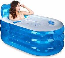 Aufblasbare Badewannen-Falt-Badewanne Tragbare