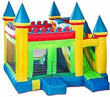 Aufblasbare Burg, Kindertrampolin Spielplatz Im