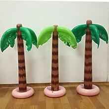 90cm Aufblasbare Schlag-hawaiische tropische Palme Strand Pool Partei Dekor