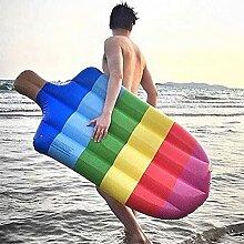 Aufblasbare Schwimmrausch Rainbow Chair Popsicle