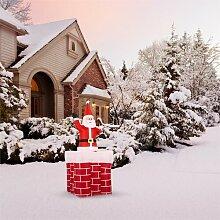 Aufblasbare Weihnachtsdeko oneConcept